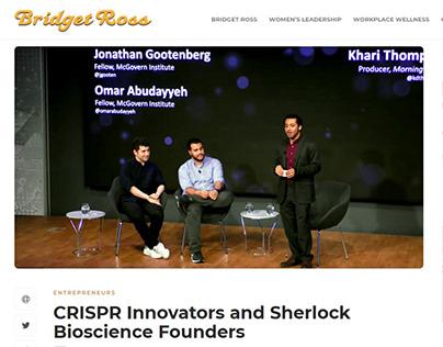 CRISPR Innovators and Sherlock Bioscience Founders