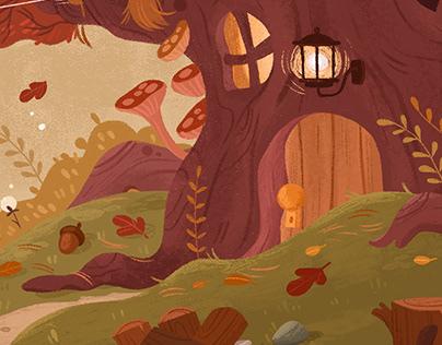 Cozy Autumn House