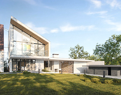 Exterior visuals for a project in Maidenhead