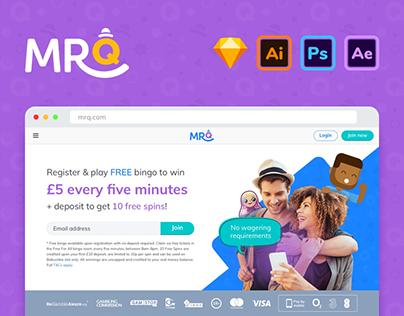 MrQ - Web + Mobile App Design