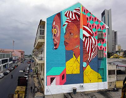 ANGOLANA. Feat verkrom cru. Angola, Africa. 2019.