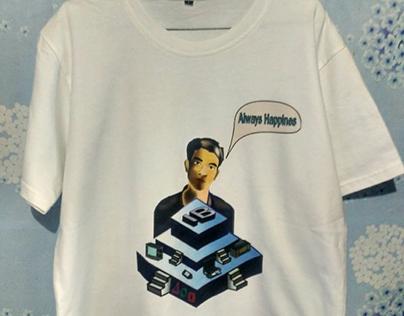my t shirt