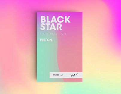 BLACK STAR | Poster Series