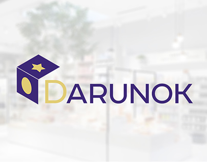 "Logo for ""Darunok"" shop"