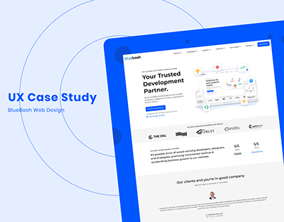 UX Case Study BlueBash Web