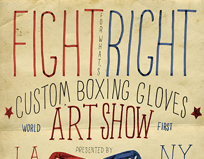 Fight For What's Right Art Show - Part Two