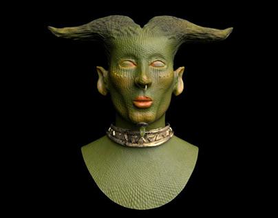 Lizard man - 3D