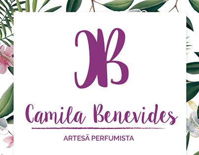 Logo + Identidade visual | Camila Benevides.