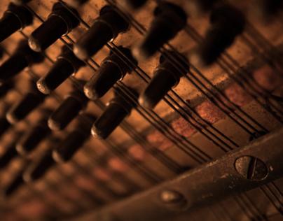 Macro on Piano