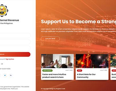 BIR Web Design Concept