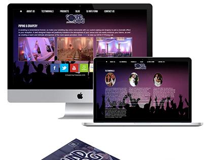 Sound Dog Productions Responsive Website Design