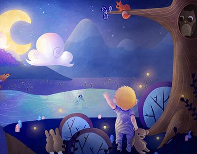 L'enfant et la Lune