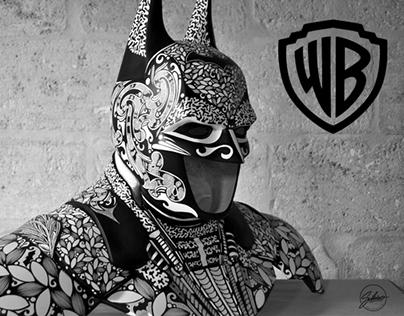"""EXPO """"BATMAN , sous le masque et la cape"""" WARNER BROS"""