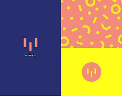 Woven Logo /