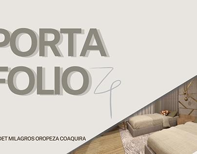 PORTAFOLIO- DISEÑO DE INTERIORES 2020 - 2021