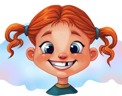 children's characters by RUSS