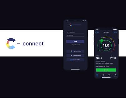 "B2B application ""C-CONNECT"""