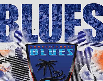 OC Blues Poster