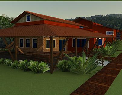 Colab. Proj. Arquitetura e Interiores - Resid. Bonito