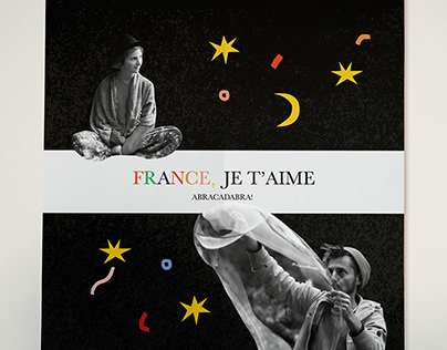 France, Je T'aime COLLAGE