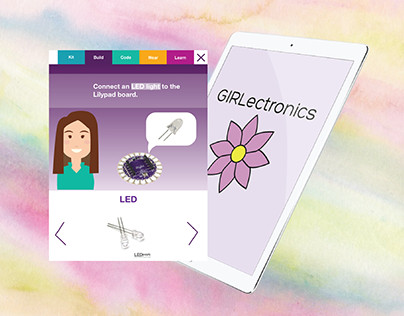 GIRLectronics - Educational STEM App and Kit