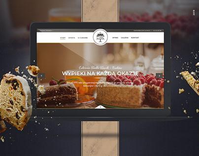 Słodki Słowik - Pastry / Bakery Website