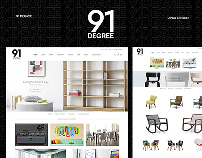 91 Degree :: Lifestyle & Interiors Web Design