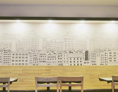Nanglo Express Mural
