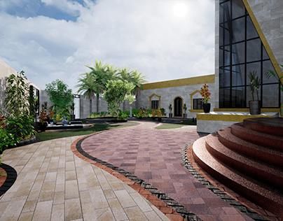 LANDSCAPE &BUILDING -MR .MOHAMMED ALI -DUBAI 2021
