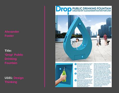 Drop Drinking Fountain
