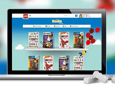 LEGO® Books Website