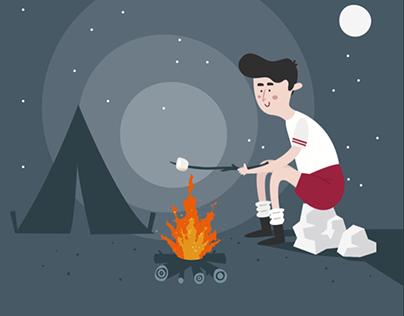 Campfire Animation
