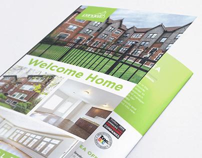 Pangea Real Estate Brochure Redesign