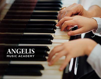 Angelis music academy branding design