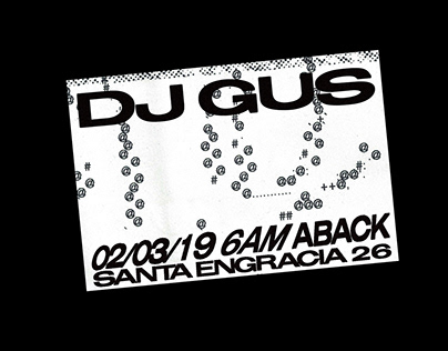 FLYER FOR DJGUS