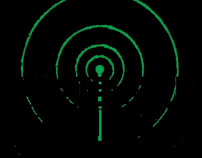 Wasteland Active Radio Logo Redesign