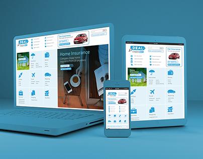 Dealfinder   Bootstrap Responsive Website