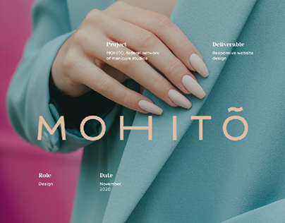 MOHITO - website design