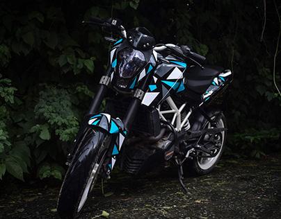 M.R Designz   KTM Duke