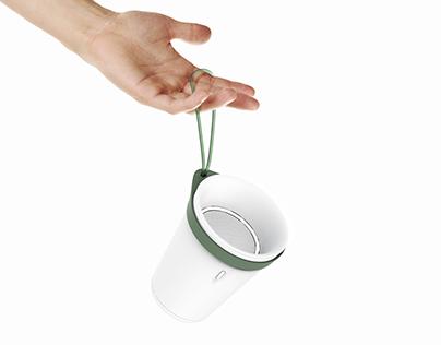 Smart Speaker for Plus Minus Zero (Concept)