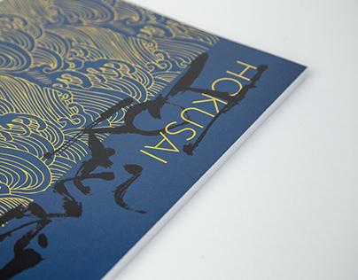 Publication Design | Hokusai Book Design