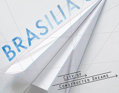 """Poster """"Brasilia Dice 50"""""""