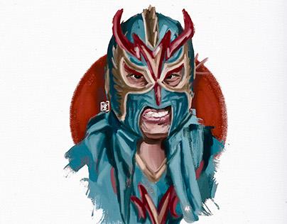 Personal work: Último Dragón Japanese legend