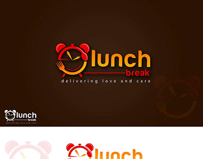 Lunch Break Logo Design