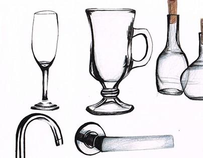 Estudo de representação de materiais