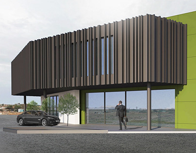 3D VISUALIZATION FOR A BUSINESS PARK