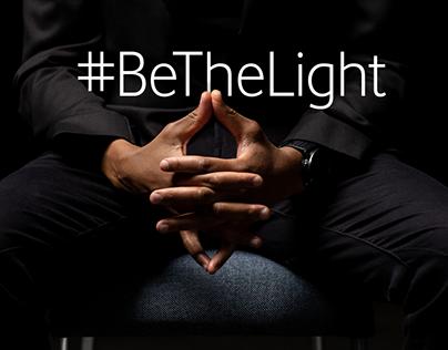 #BeTheLight Vodacom GBV campaign