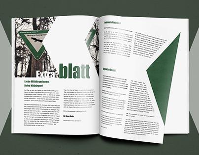 Extrablatt Magazine/Editorial Design
