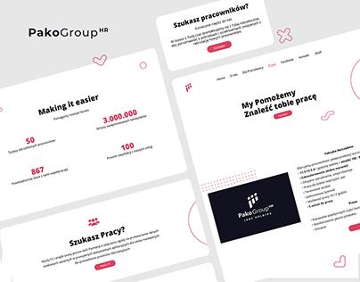 Pako Group HR - UI/UX