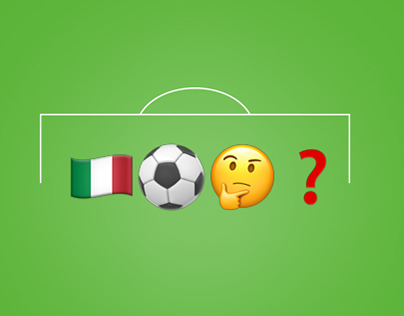 Italian Serie A football players Emoji Rebus 2016/2017